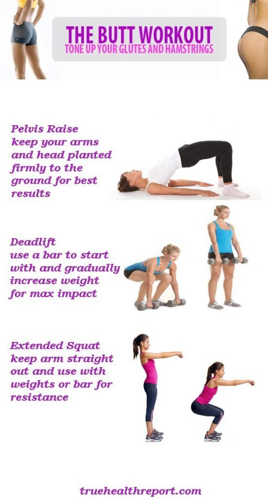 buttock excercise